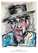 Rough and Rowdy (Bob Dylan) Print