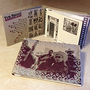 Borderland SPECIAL CD and Vintage Postcard Book Combo